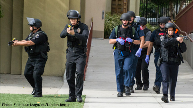 Active Shooter Event Response - photo Firehouse Magazine/Landon Jensen