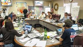 Joint Information Center for the Waldo Canyon Fire. FEMA photo by Michael Rieger