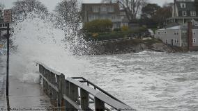 Flooding in Marblehead, MA caused by Hurricane Sandy. The Birkes (flickr.com/photos/brbirke/8136033826/) CC 2.0 via Wikimedia Commons